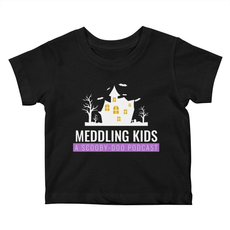 Fancy Schmancy Logo Kids Baby T-Shirt by Ninja Penguin Pods