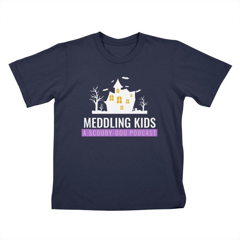 Fancy Schmancy Logo Kids T-Shirt by Ninja Penguin Pods