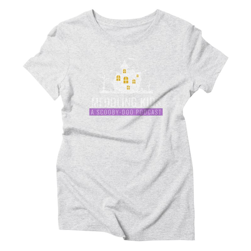 Fancy Schmancy Logo Women's Triblend T-Shirt by Ninja Penguin Pods
