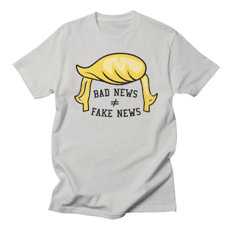 Bad News Fake News Women's Regular Unisex T-Shirt by Mediaite's Merchandise Shop