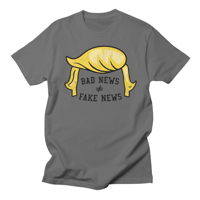 Bad News Fake News Women's T-Shirt by Mediaite's Merchandise Shop