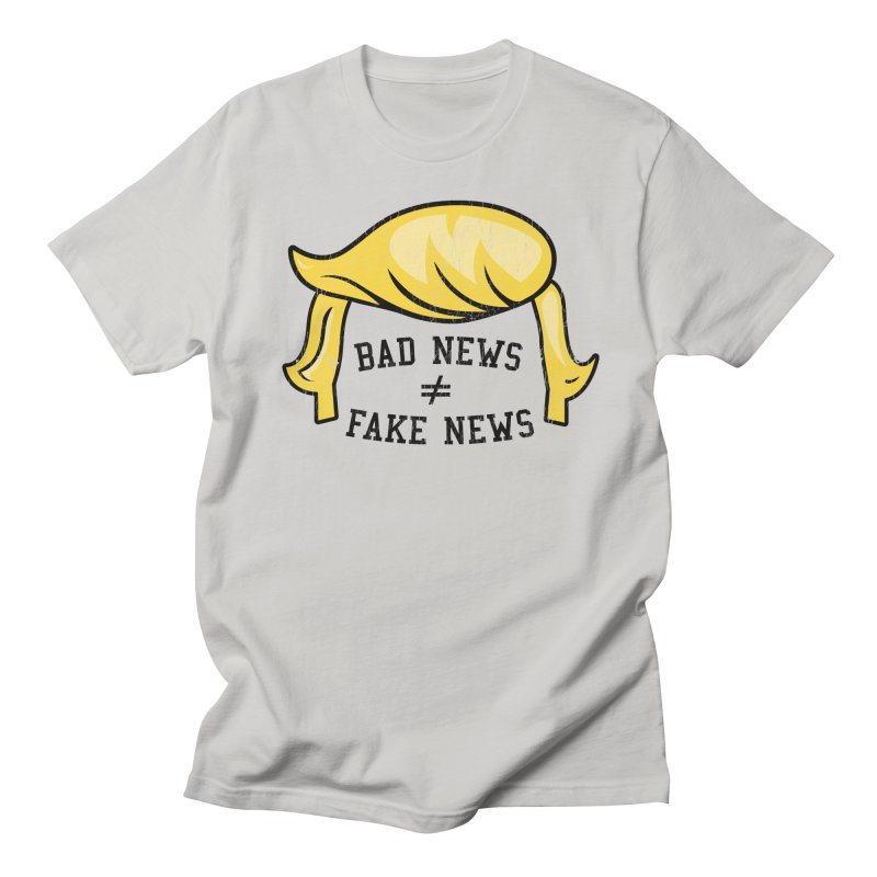 Bad News Fake News Women's T-Shirt by Mediaite's Merchandise Shop