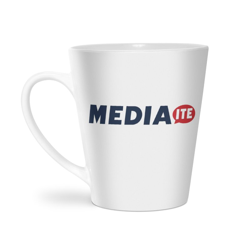 Mediaite Accessories Latte Mug by Mediaite's Merchandise Shop