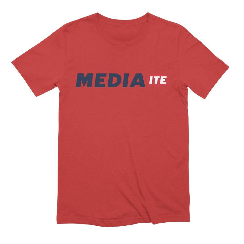 Mediaite Men's Extra Soft T-Shirt by Mediaite's Merchandise Shop