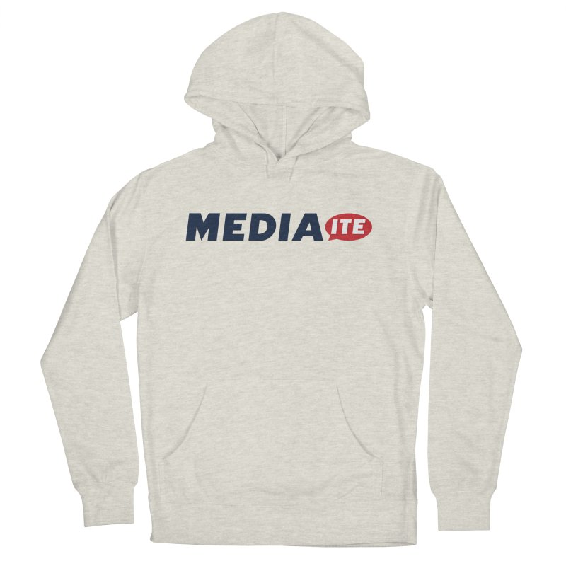 Mediaite Men's French Terry Pullover Hoody by Mediaite's Merchandise Shop