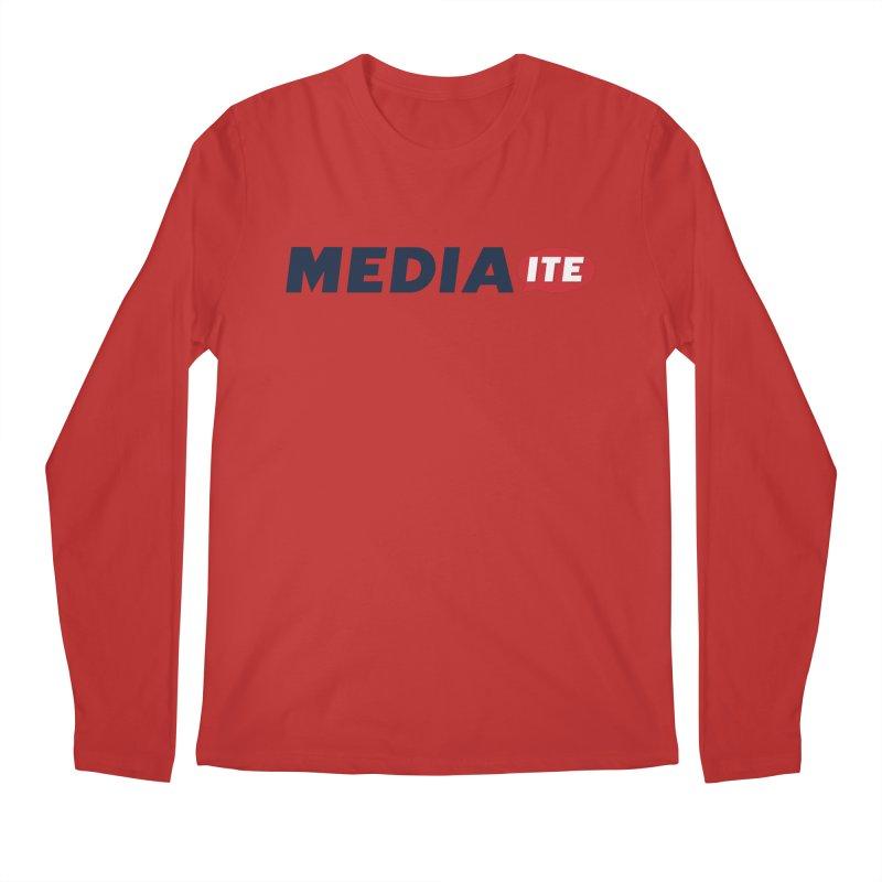 Mediaite Men's Regular Longsleeve T-Shirt by Mediaite's Merchandise Shop