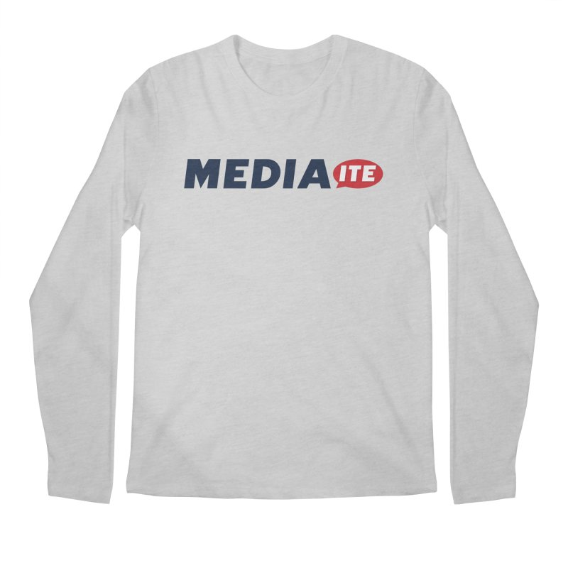 Mediaite Men's Regular Longsleeve T-Shirt by Mediaite's Merchandise Shop