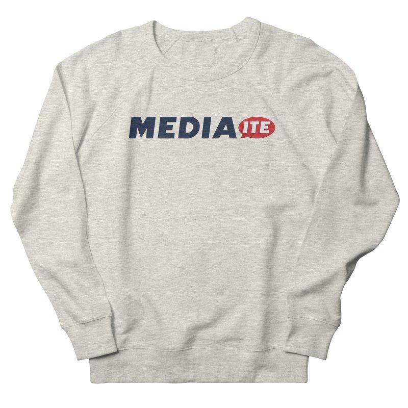 Mediaite Men's French Terry Sweatshirt by Mediaite's Merchandise Shop