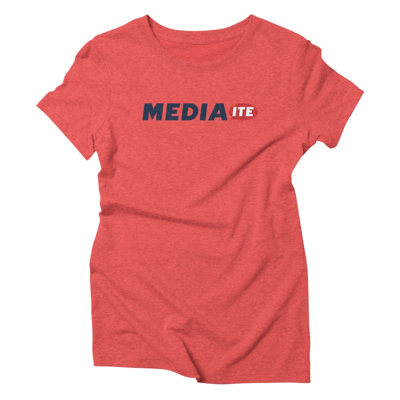 Mediaite Women's Triblend T-Shirt by Mediaite's Merchandise Shop