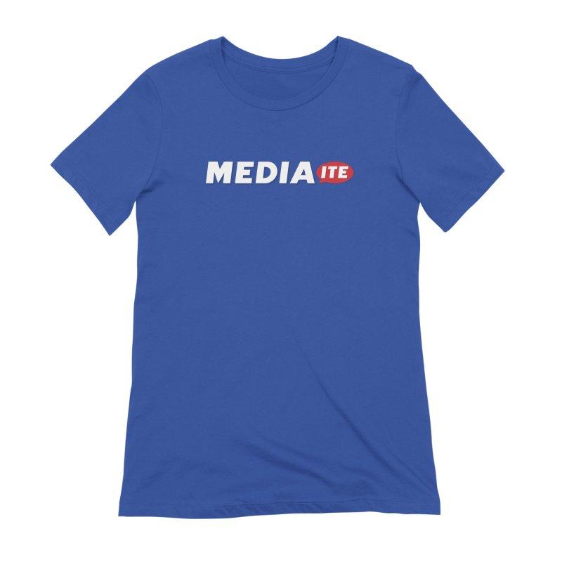 Mediaite Contrast Women's T-Shirt by Mediaite's Merchandise Shop