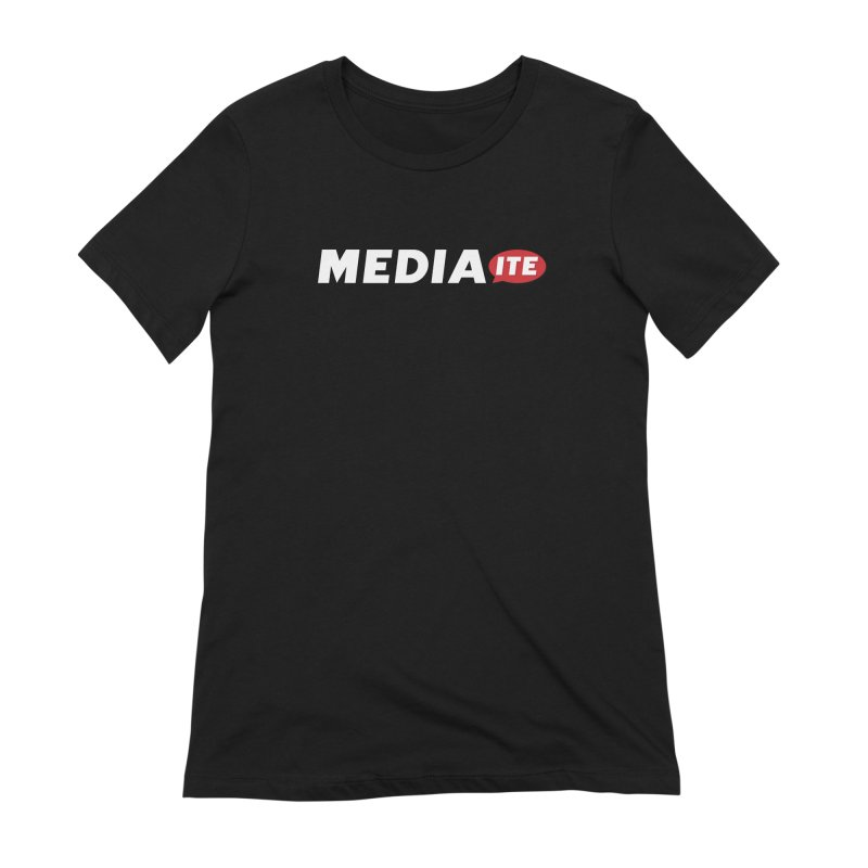 Mediaite Contrast Women's Extra Soft T-Shirt by Mediaite's Merchandise Shop