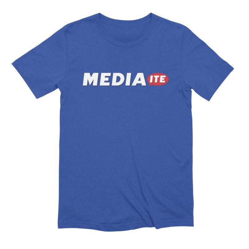 Mediaite Contrast Men's Extra Soft T-Shirt by Mediaite's Merchandise Shop