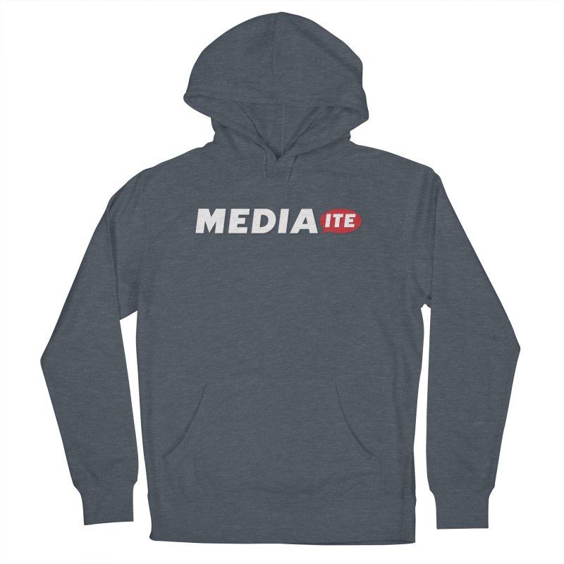 Mediaite Contrast Women's Pullover Hoody by Mediaite's Merchandise Shop