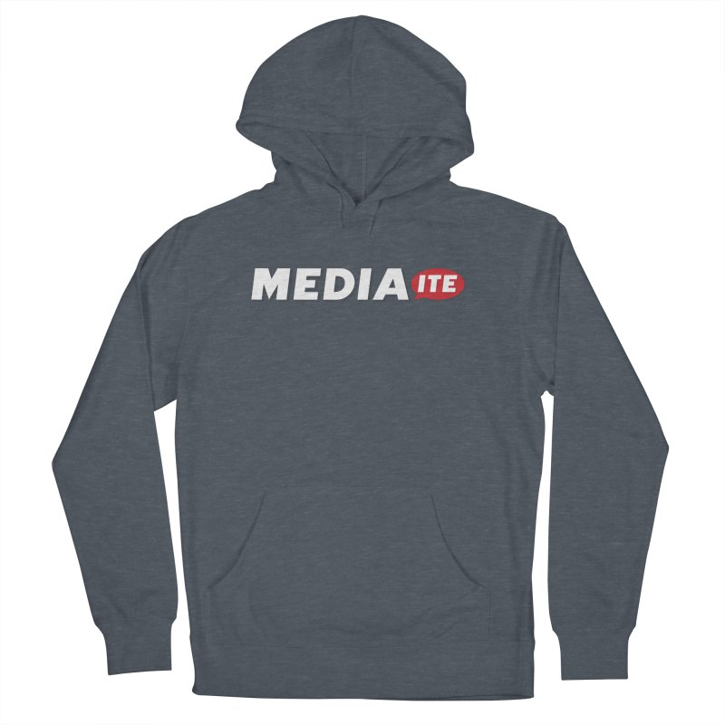 Mediaite Contrast Men's French Terry Pullover Hoody by Mediaite's Merchandise Shop