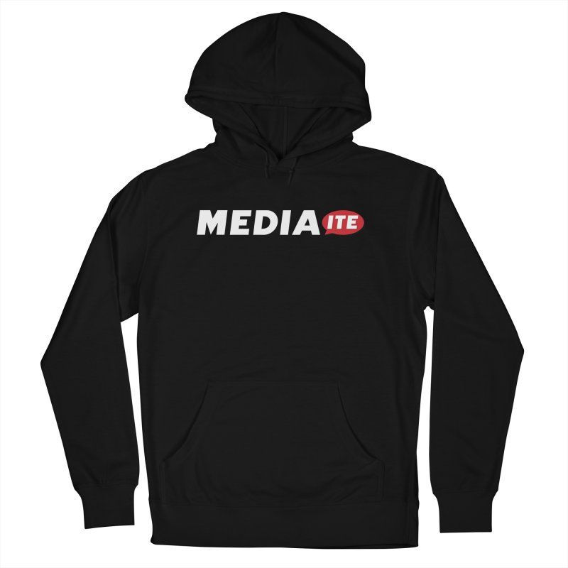 Mediaite Contrast Men's French Terry Pullover Hoody by Mediaite's Merchandise Shop
