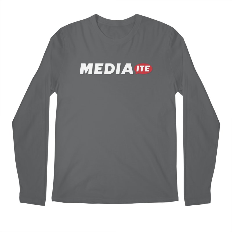 Mediaite Contrast Men's Regular Longsleeve T-Shirt by Mediaite's Merchandise Shop