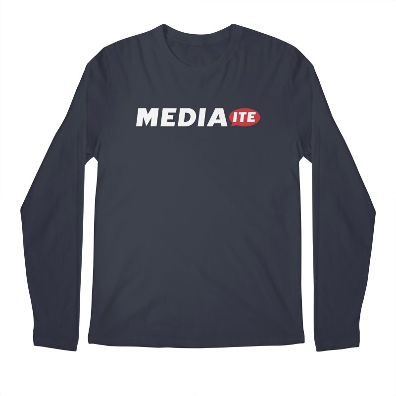 Mediaite Contrast Men's Regular Longsleeve T-Shirt by Mediaite's Merchandise Shop