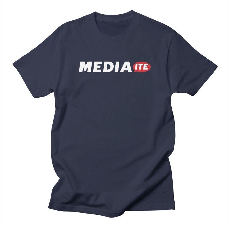 Mediaite Contrast Women's Regular Unisex T-Shirt by Mediaite's Merchandise Shop