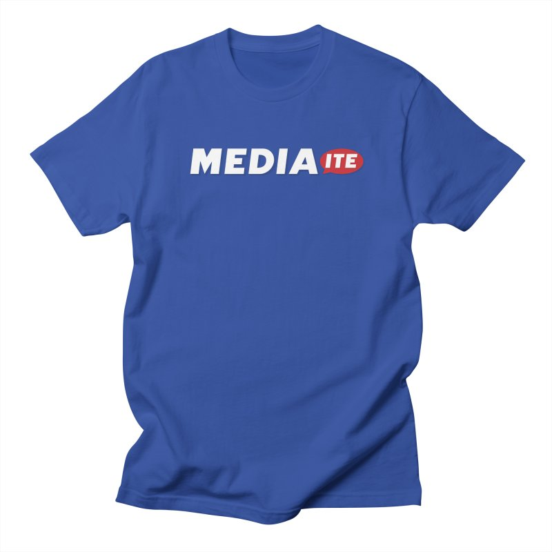 Mediaite Contrast Women's Regular Unisex T-Shirt by Mediaite's Merchandise Shop