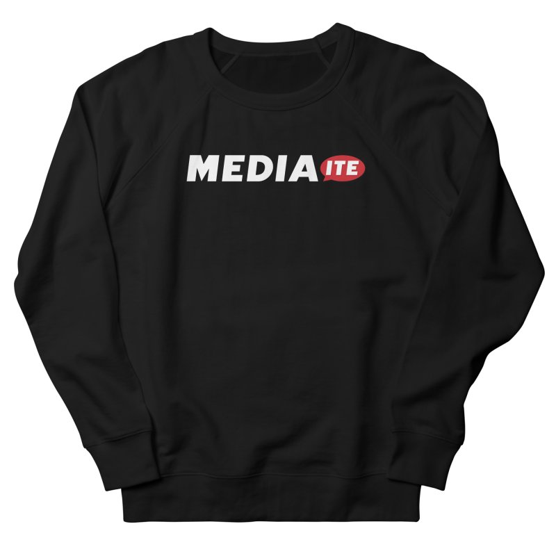 Mediaite Contrast Women's French Terry Sweatshirt by Mediaite's Merchandise Shop