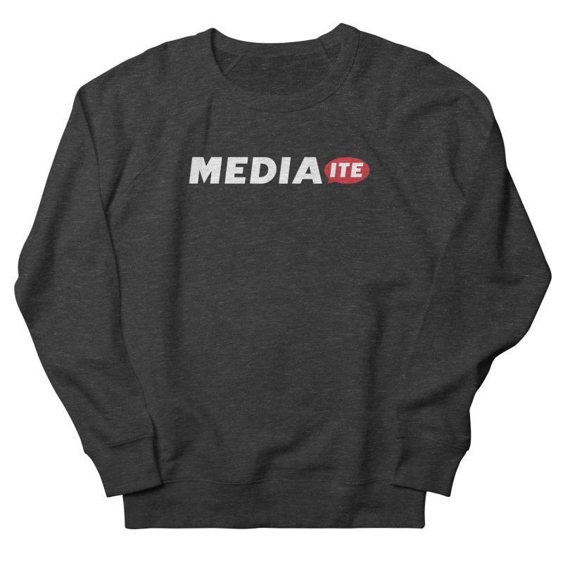 Mediaite Contrast Men's French Terry Sweatshirt by Mediaite's Merchandise Shop