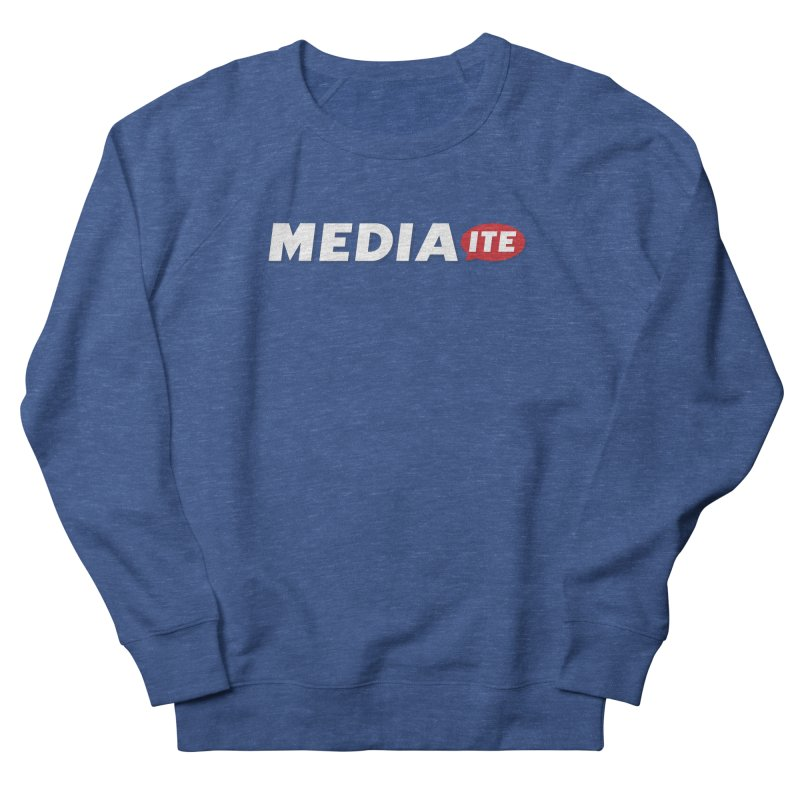 Mediaite Contrast Men's Sweatshirt by Mediaite's Merchandise Shop