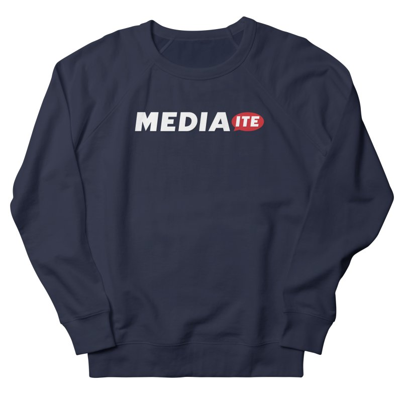 Mediaite Contrast Men's French Terry Sweatshirt by Mediaite's Merchandise Shop