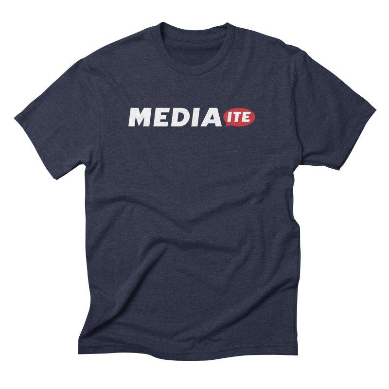 Mediaite Contrast Men's Triblend T-Shirt by Mediaite's Merchandise Shop