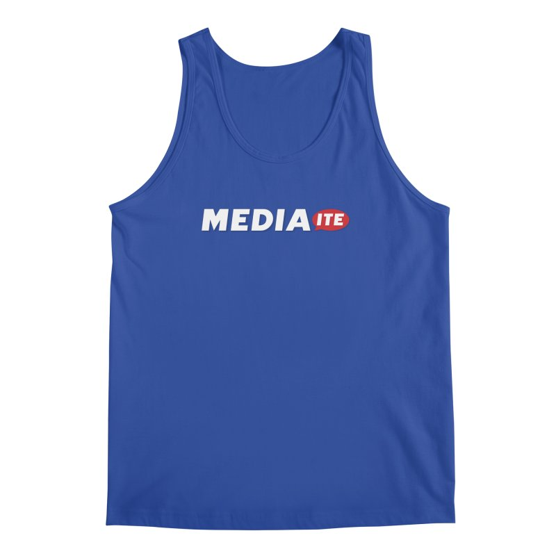 Mediaite Contrast Men's Tank by Mediaite's Merchandise Shop