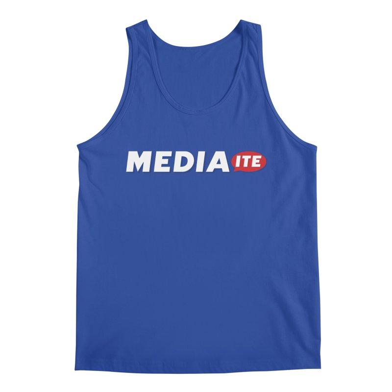Mediaite Contrast Men's Tank by Mediaite's Merchandise Shop