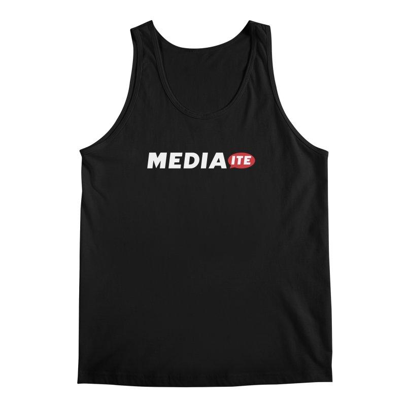 Mediaite Contrast Men's Regular Tank by Mediaite's Merchandise Shop