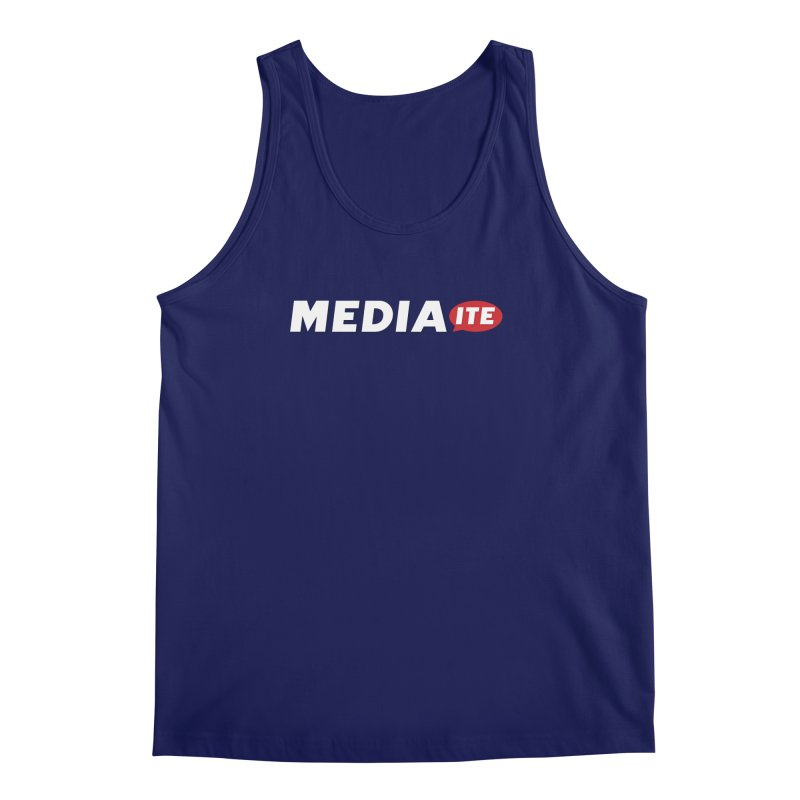 Mediaite Contrast Men's Regular Tank by Mediaite's Merchandise Shop