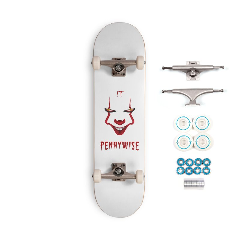 Pennywise Accessories Skateboard by Meek a Meel
