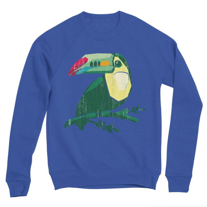 Tucan Men's Sweatshirt by Mee Schmid Plantlady Shop