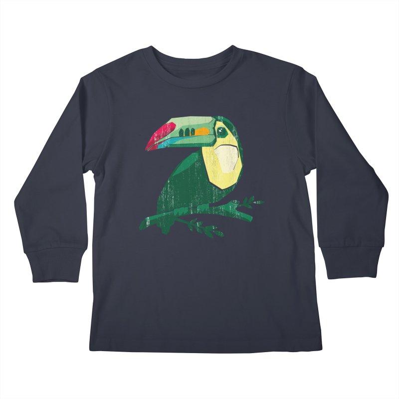 Tucan Kids Longsleeve T-Shirt by Mee Schmid Plantlady Shop