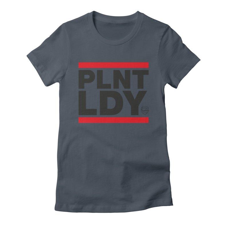 Run PLNT LDY Women's T-Shirt by Mee Schmid Plantlady Shop