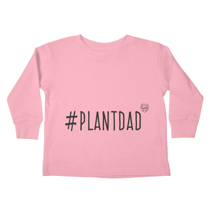 #Plantdad Kids Toddler Longsleeve T-Shirt by Mee Schmid Plantlady Shop