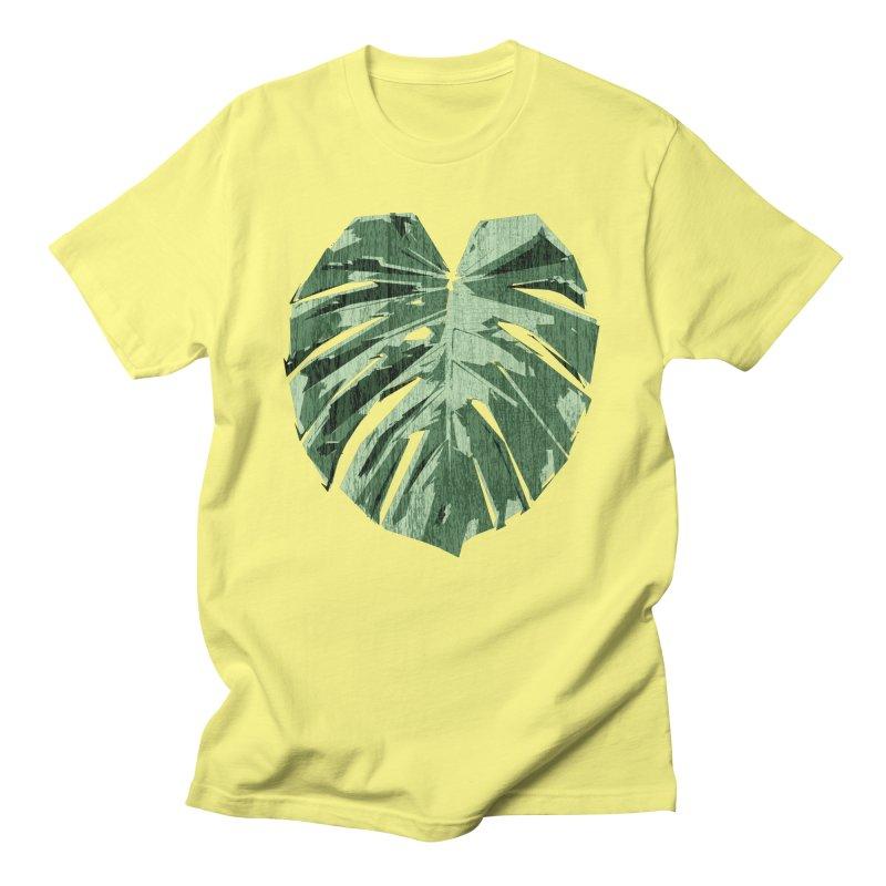 Monstera Love Men's T-Shirt by Mee Schmid Plantlady Shop