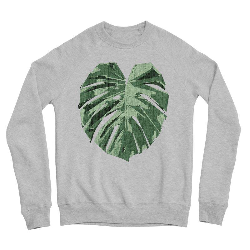 Monstera Love Men's Sweatshirt by Mee Schmid Plantlady Shop