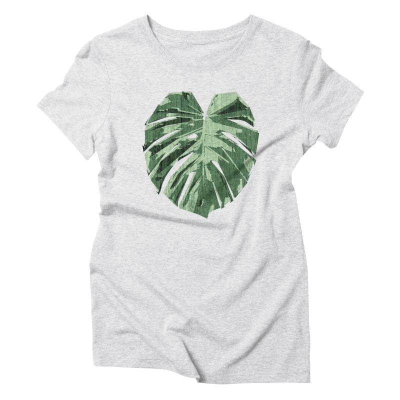 Monstera Love Women's T-Shirt by Mee Schmid Plantlady Shop