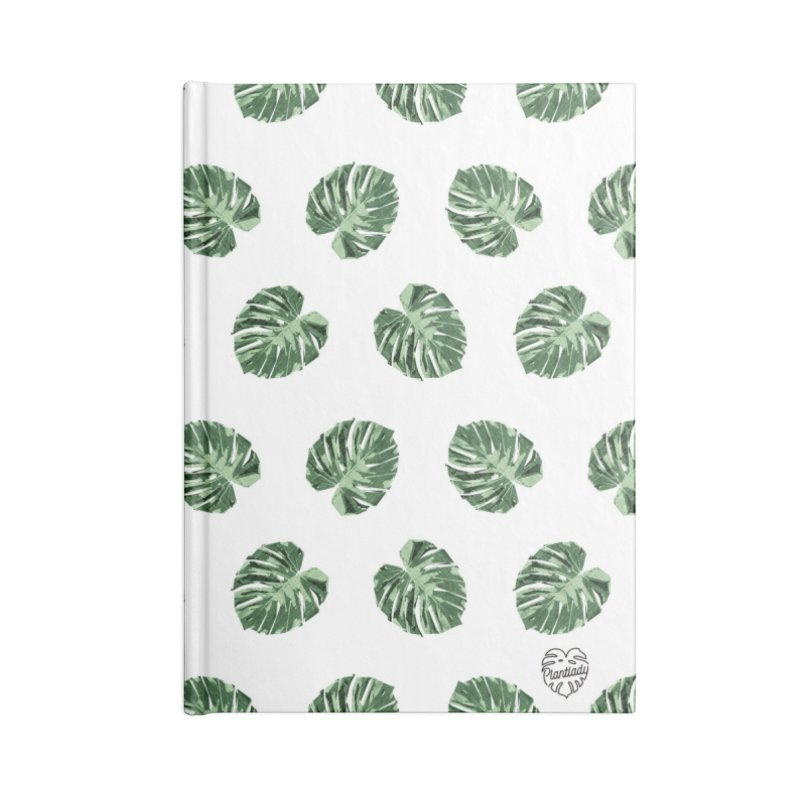 Allover Monstera Love Accessories Notebook by Mee Schmid Plantlady Shop