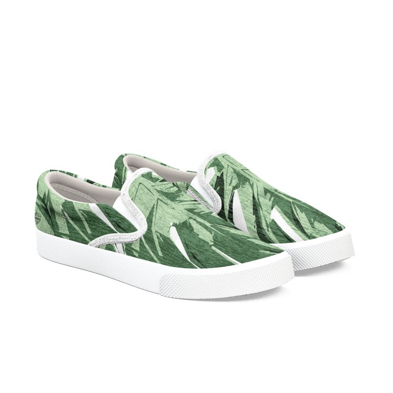 Structure Of Monstera Love Men's Shoes by Mee Schmid Plantlady Shop