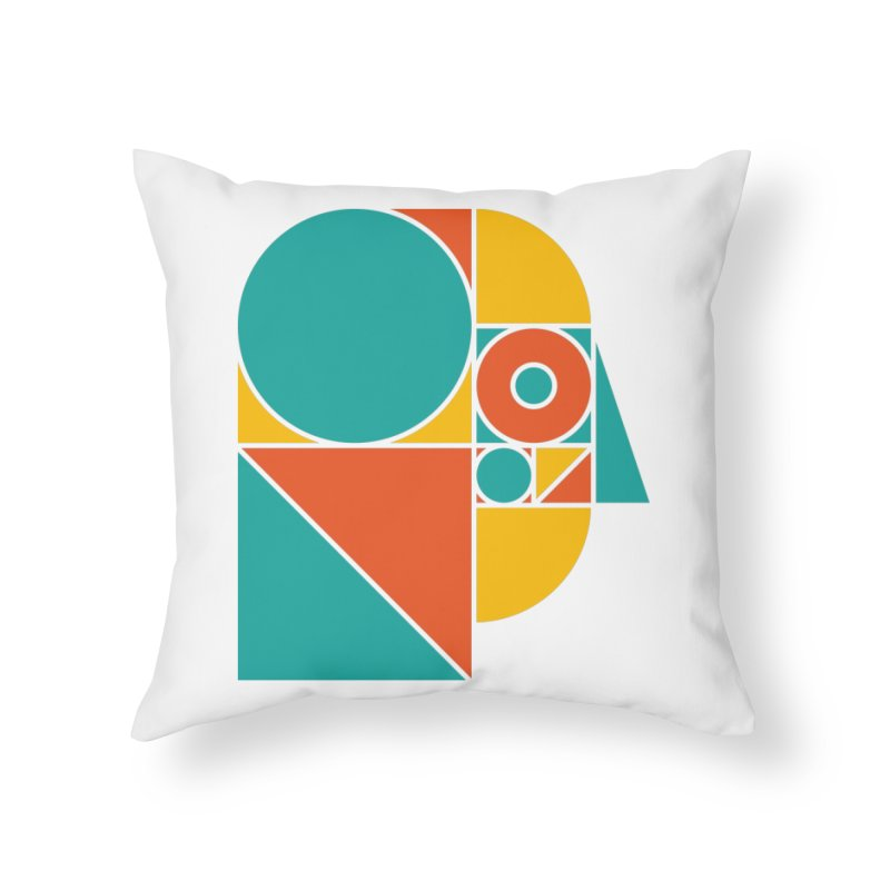 MYM Colour Home Throw Pillow by Meet Your Maker
