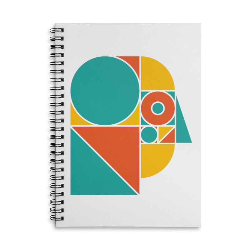 MYM Colour Accessories Lined Spiral Notebook by Meet Your Maker