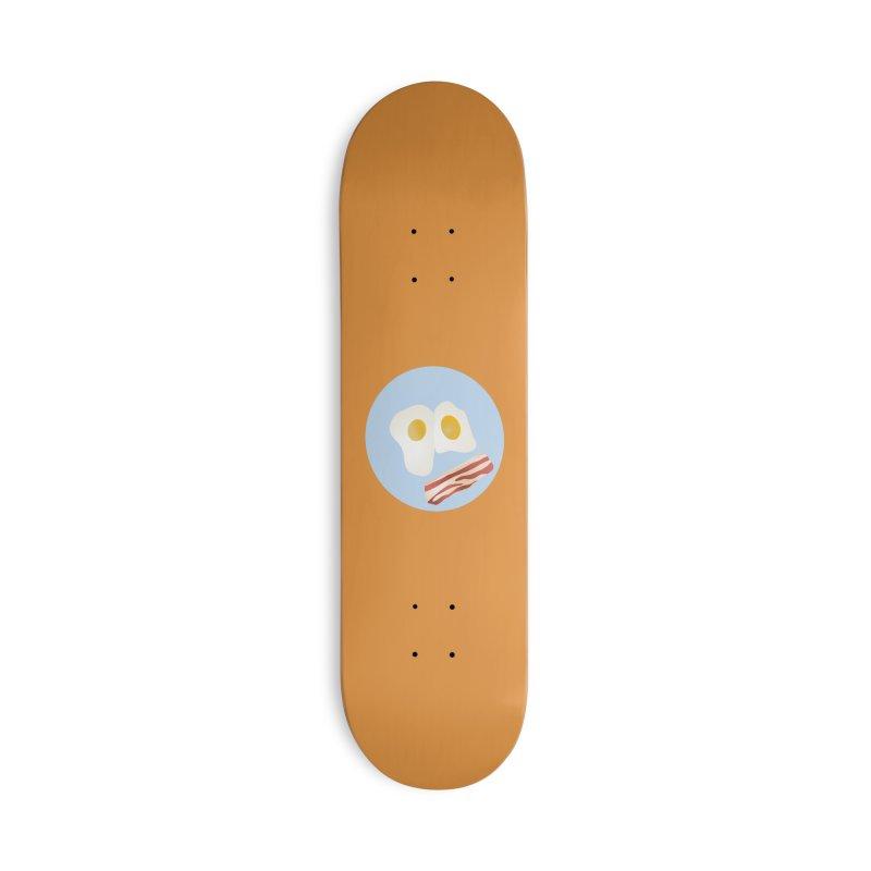 Breakfast is Served Accessories Skateboard by megaduel's Artist Shop