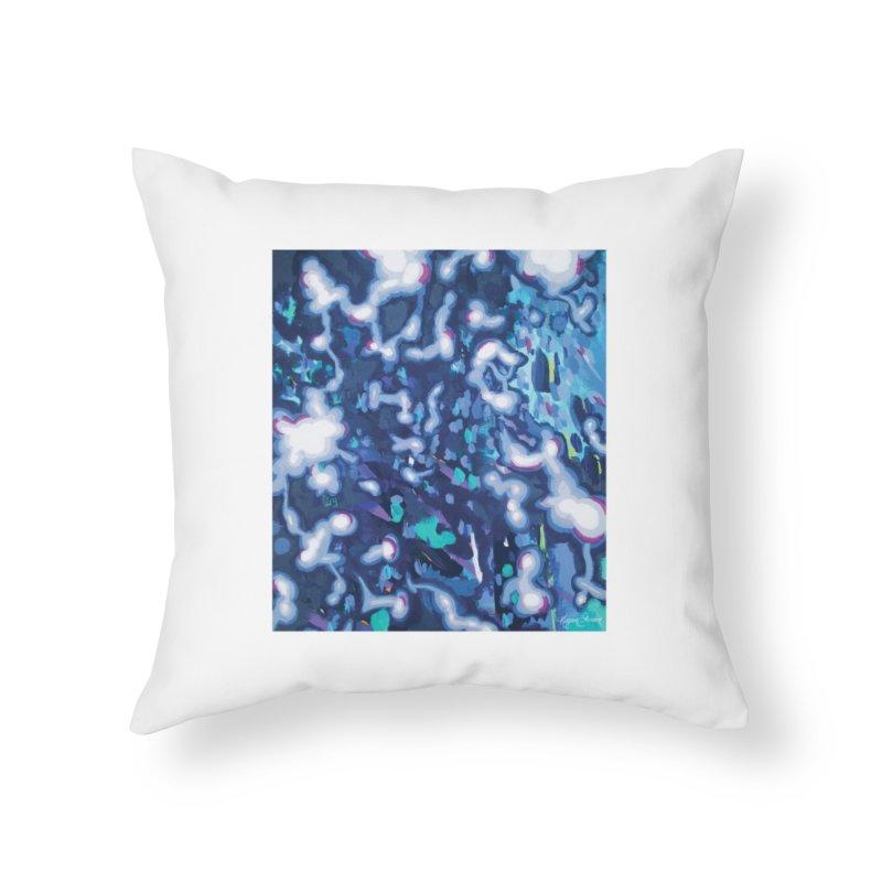 Awakening Home Throw Pillow by megangordondotstudio