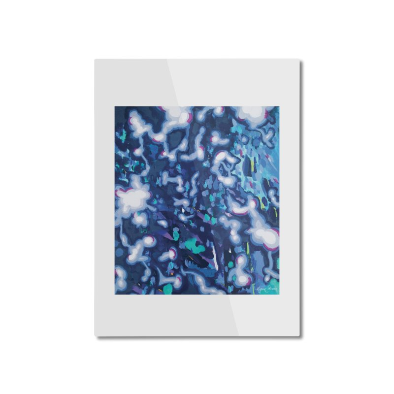 Awakening Home Mounted Aluminum Print by megangordondotstudio