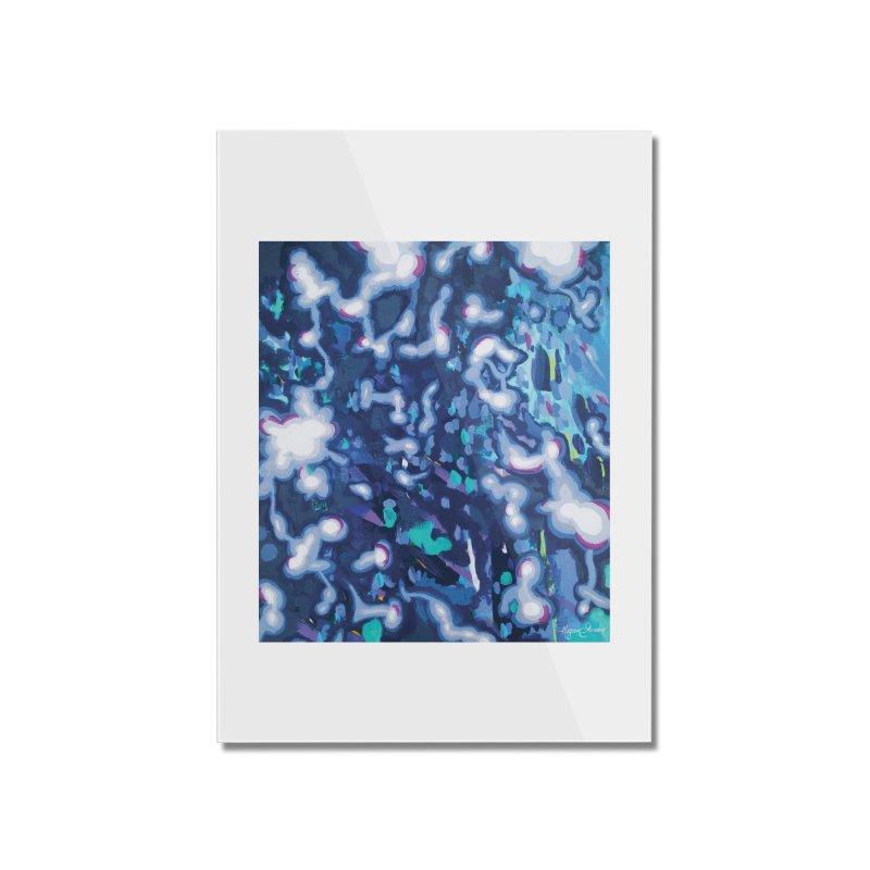 Awakening Home Mounted Acrylic Print by megangordondotstudio