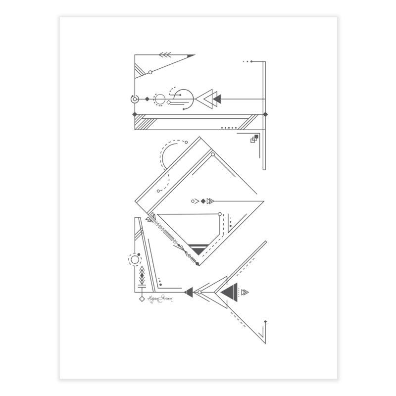 Connected to Joy Home Fine Art Print by megangordondotstudio