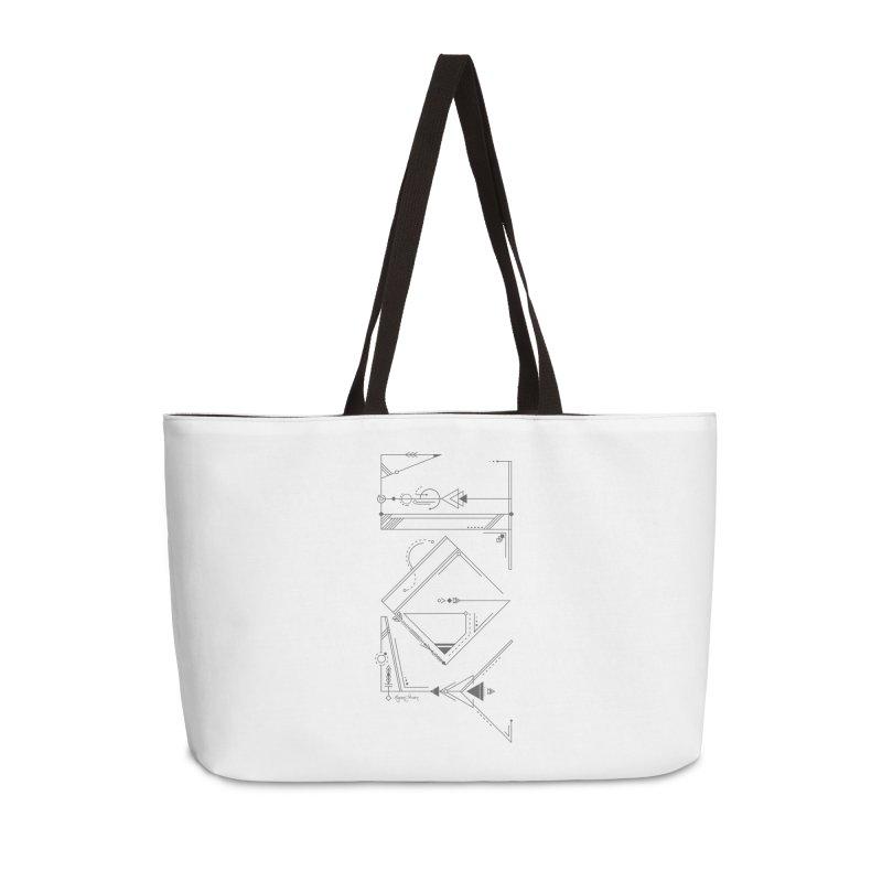 Connected to Joy Accessories Bag by megangordondotstudio